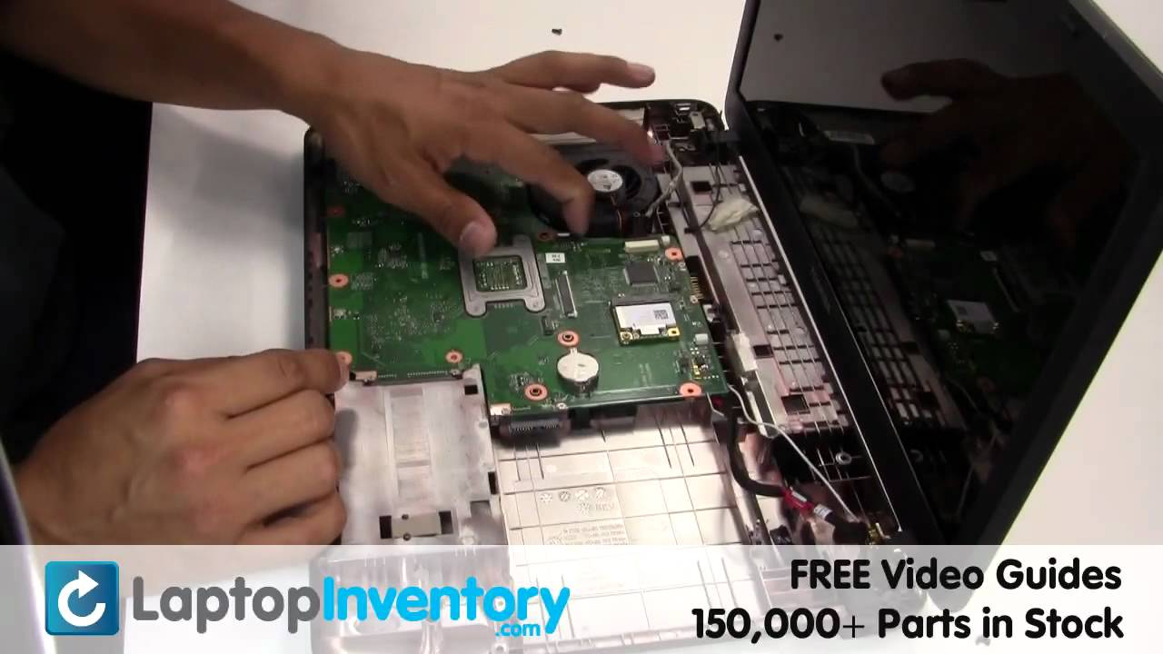 Toshiba Satellite C650 Motherboard Replacement Guide