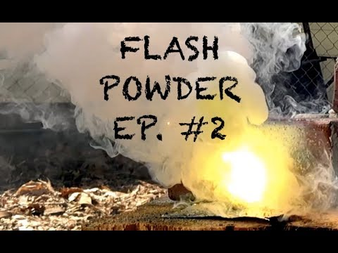 Flash Powder Ep. 2 - Magnesium Nitrate And Zinc Powder??
