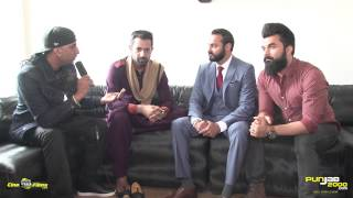 Exclusive Interview with Gippy Grewal, Jaggi SIngh & Dr Zeus on Faraar by Upinder Randhawa