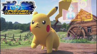 POKKEN TOURNAMENT! Pokemon Arcade Game Attract Mode