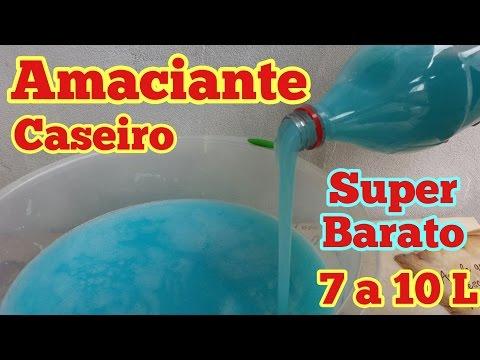 AMACIANTE CASEIRO FÁCIL E BARATO