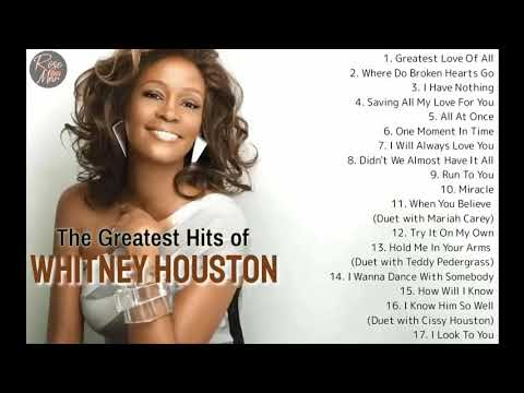 Whitney Houston | The Greatest Hits | Non Stop Playlist