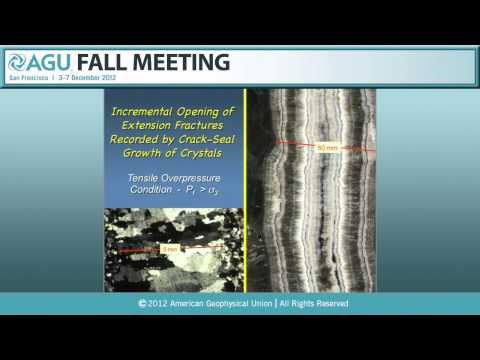 Birch Lecture: T32A. Inside a Crustal Earthquake - the Rock Evidence - 2012 AGU Fall Meeting
