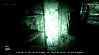 outlast guy tried to cut off my penis