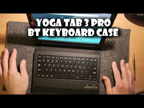 Lenovo Yoga Tab 3 PRO Bluetooth Keyboard Case Review