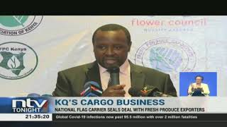 KQ seals deal with fresh produce exporters