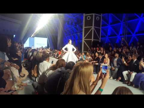 Arab Fashion Week at Sky Bubble Meydan Hotel, Dubai. THE WORLD'S ONLY READY-COUTURE & PRE-COLLECTION
