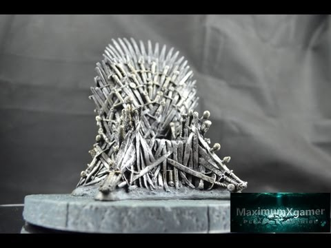 Game Of Thrones Iron Throne Replica Unboxing and Review Officially licensed