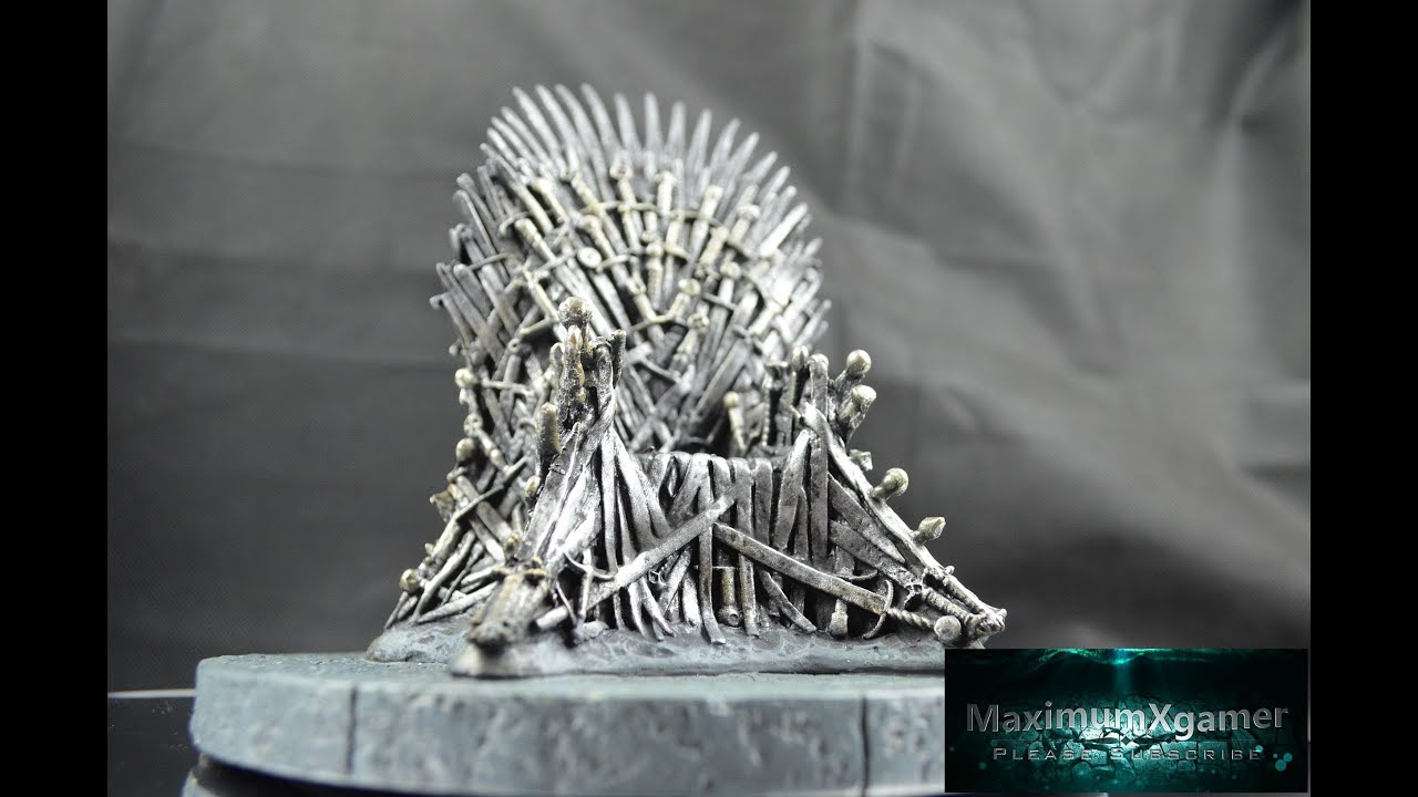 Game of thrones chair cake - Game Of Thrones Iron Throne Replica Unboxing And Review Officially
