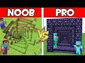 Minecraft - NOOB vs PRO : SECRET TRAP in Minecraft ! AVM SHORTS Animation