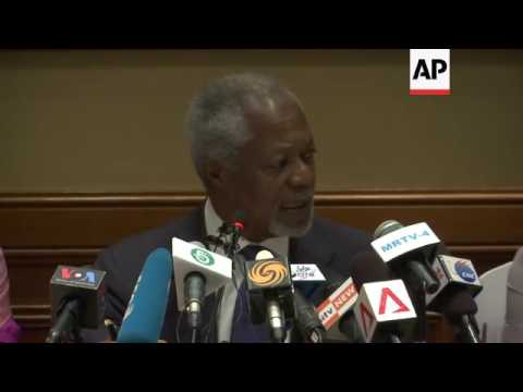Former UN chief on violence in west Myanmar