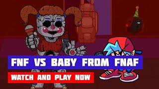 FNF vs Baby from FNAF | Friday Night Funkin'