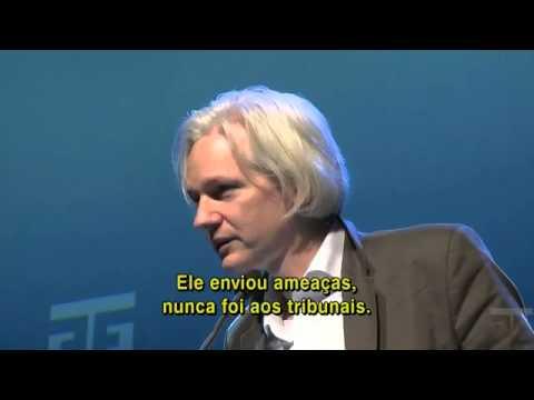 WikiLeaks - Julian Assange-   Oslo Freedom Forum 2010 legendado