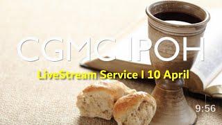 LiveStream - Saturday 10th April @ 8:00 pm (Holy Communion)