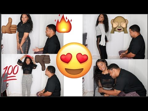HILARIOUS AF HUSBAND RATES MY OUTFITS ft. FASHION NOVA