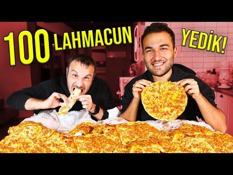 100 TANE LAHMACUN YEDİK! /w Uras Benlioğlu
