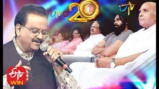 Legendary Singer SP Balasubramanyam Special   ETV@20 Years Celebrations   Full Episode   ETV  Telugu