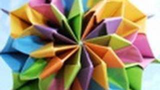 origami - modular - action origami - firework - tutorial - dutchpapergirl