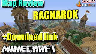 MINECRAFT - PS3 - SUKI RAGNAROK - MAP REVIEW  ( PS4 )  SERVER