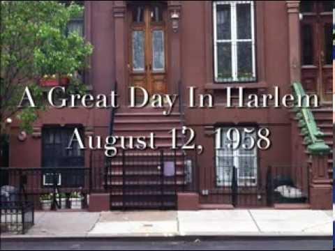 Great Day In Harlem - Then & Now