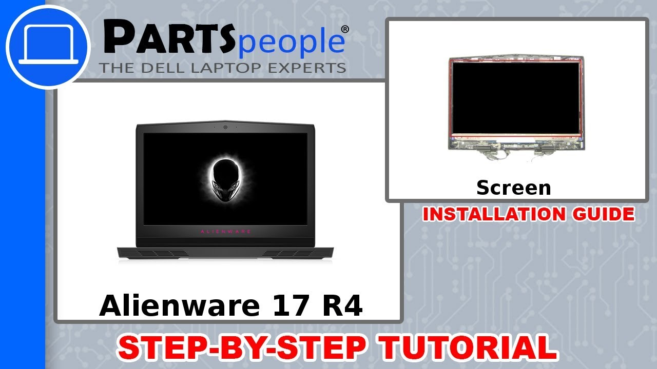 Dell Alienware 17 R4 (P12S001) Screen How-To Video Tutorial