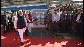 PM Narendra Modi inaugurates Hyderabad Metro, at Hyderabad
