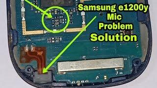 Samsung e1200y mic Solution