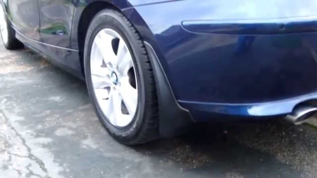 How To Fit Mud Flaps On E87 120d 1 Series Bmw Youtube