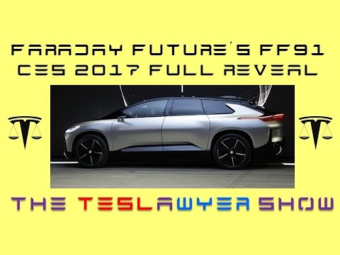 Faraday Future CES 2017 FF91 Full Reveal