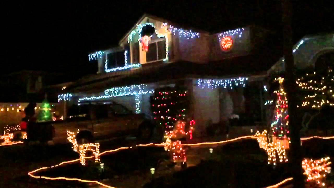 christmas lights in slow motion - Christmas Motion Lights