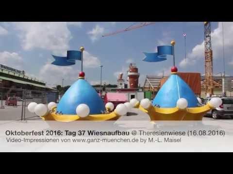 Oktoberfest 2016: Tag 37 Wiesnaufbau @ Theresienwiese (16.08.2016)