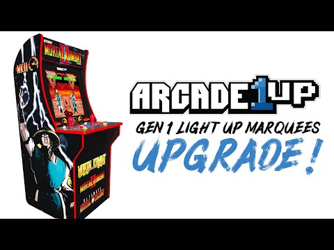 Arcade1Up Light Up Marquees from Jon Caron