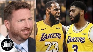 """Dave McMenamin """"NO DEBATE!"""" LeBron & Anthony Davis, Lakers are the best team in the NBA"""