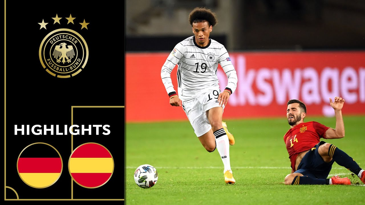 Werner Scores In Strong Sane Comeback Germany Vs Spain 1 1 Highlights Nations League Youtube