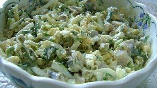Зимний салат ( ромэн салат )