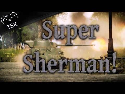 SUPER SHERMAN!!! - M4A4 (SA50) - (War Thunder RB Gameplay)