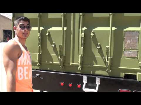 Demonstration of Nuclear Survival Shelter, Solar RV, w/ NBC Filter Part 1