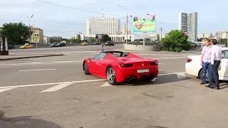 Ferrari 458 Speciale in Moscow
