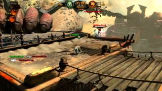 God Of War Ascension - 8 Player Free For All Match Of Champions - Desert Of Lost Souls