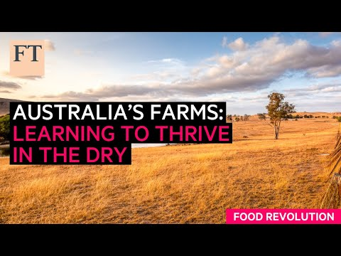 The future of farming in drought-hardened Australia? | FT Food Revolution