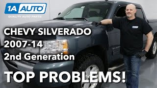 Top 5 Problems Chevy Silverado Truck 2nd Generation 200714