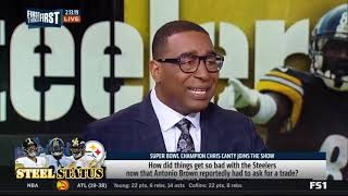 Chris Canty  How did things get so bad with the Steelers now that Antonio