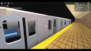 [ROBLOX] Metropolitana IRT: Dyre Av Bound R142 St - Hoyt Street
