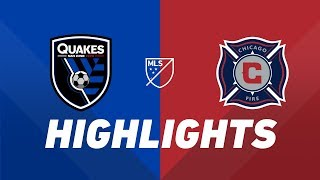 San Jose Earthquakes vs. Chicago Fire | HIGHLIGHTS - May 18, 2019