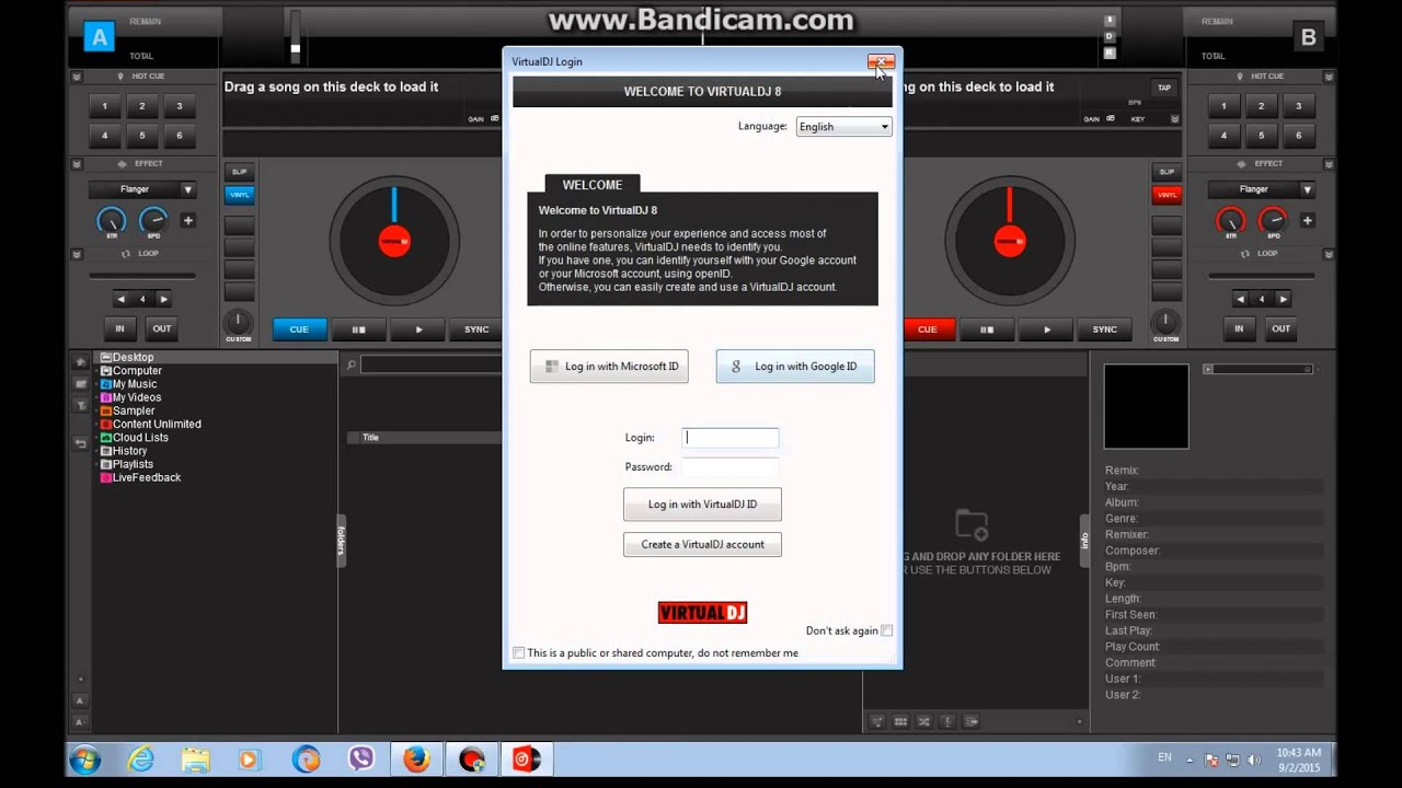 How to download free and install Virtual DJ 8 for Windows/Mac 2015
