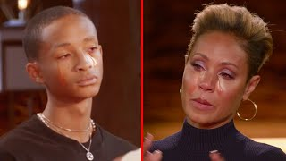 Jaden Smith Confronts His Mom Jada Pinkett Smith On Red Table Talk..