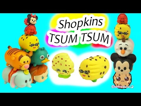 DIY Handmade Inspired Shopkins Kooky Cookie Tsum Tsum Do It Yourself Craft Video