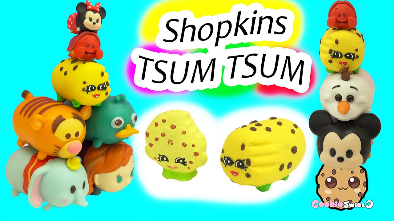 Diy Handmade Inspired Shopkins Kooky Cookie Tsum Tsum Do