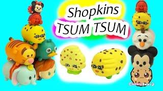 DIY Handmade Inspired Shopkins Kooky Cookie Tsum Tsum Do It Yourself Craft Video