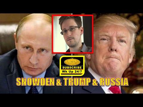 Edward SNOWDEN: Russia, USA & PRESIDENT TRUMP ((LOGICAL-RATIONAL-Emotional))